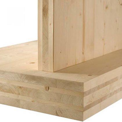 Estructuras en madera laminada y contralaminada clt - Estructura madera laminada ...