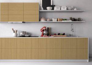 C mo dise ar y construir correctamente una cocina for Muebles hechos con melamina
