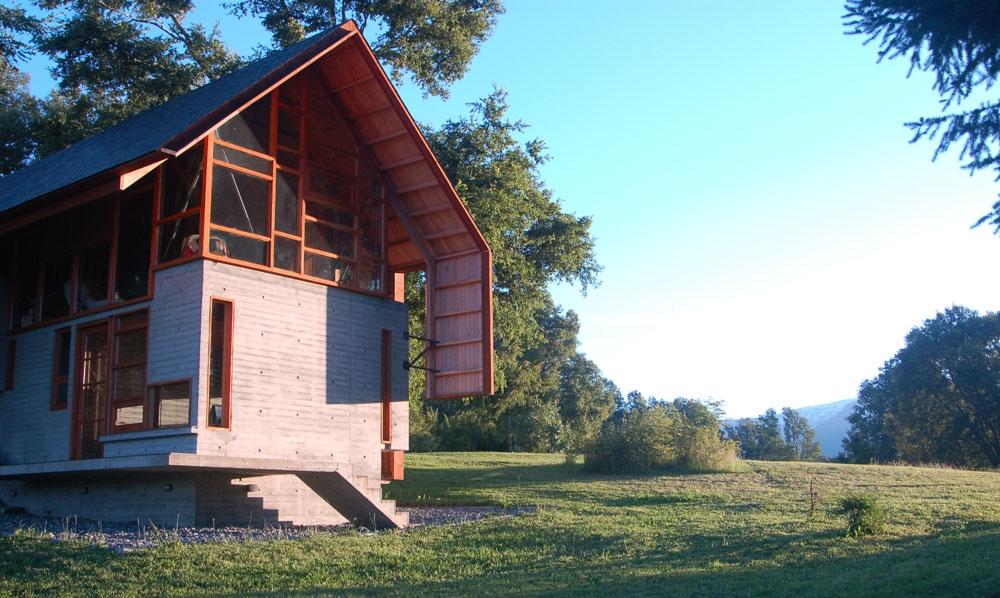 Casa dos robles en madera de pino forestal maderero - Casas de madera de pino ...