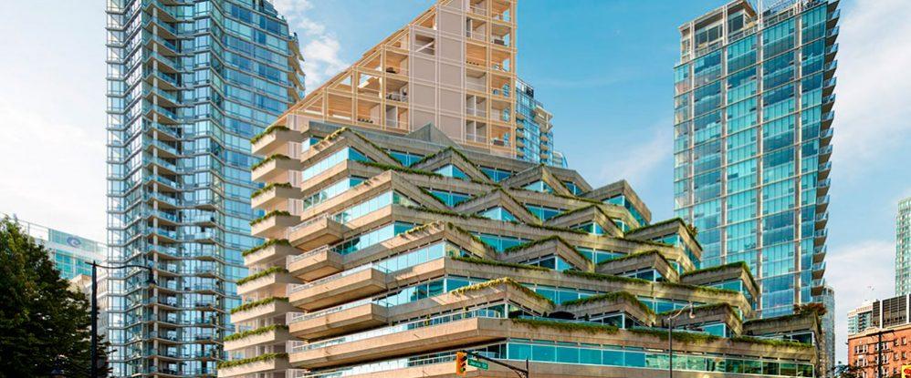 Revelan detalles de cómo será la lujosa torre híbrida de madera más ...