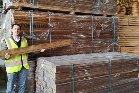 Innovación chilena  nueva madera termotratada ya se exporta al extranjero 6846c246501f