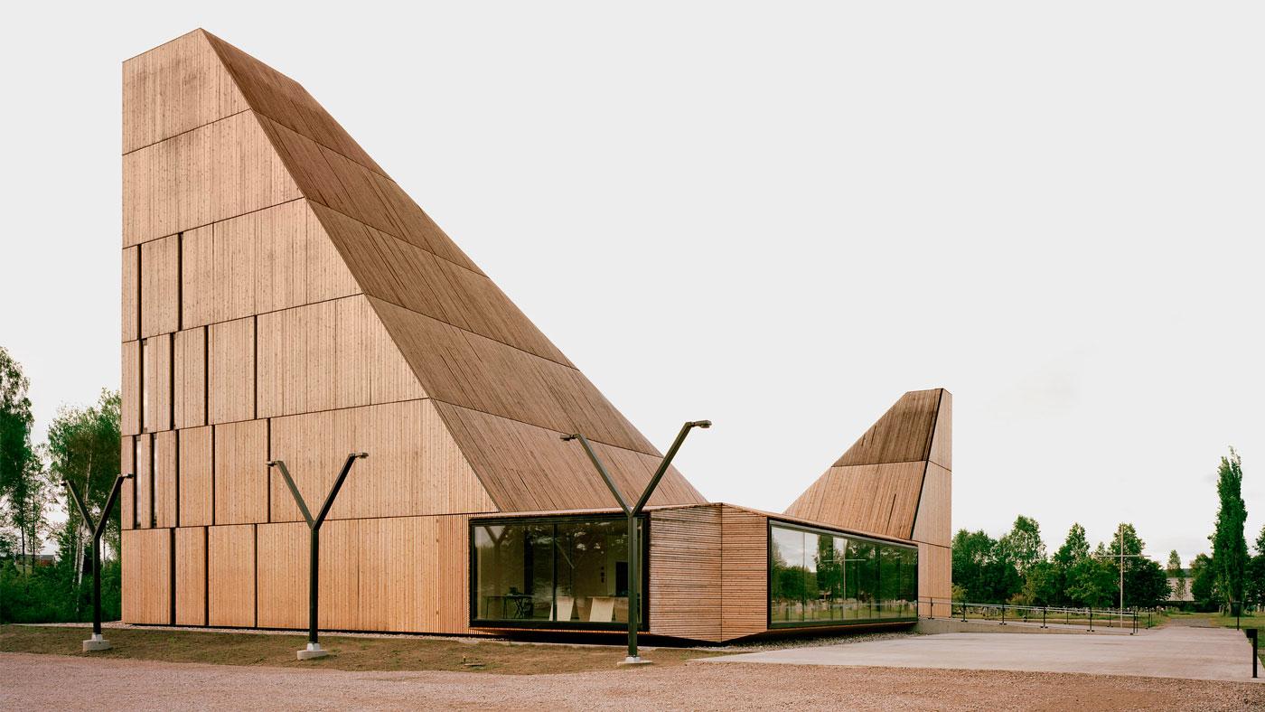 Iglesia de madera en Noruega