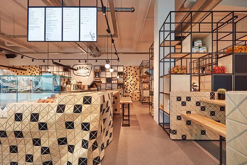 Cafeterías - Lebkov & Sons y Akkerhuis