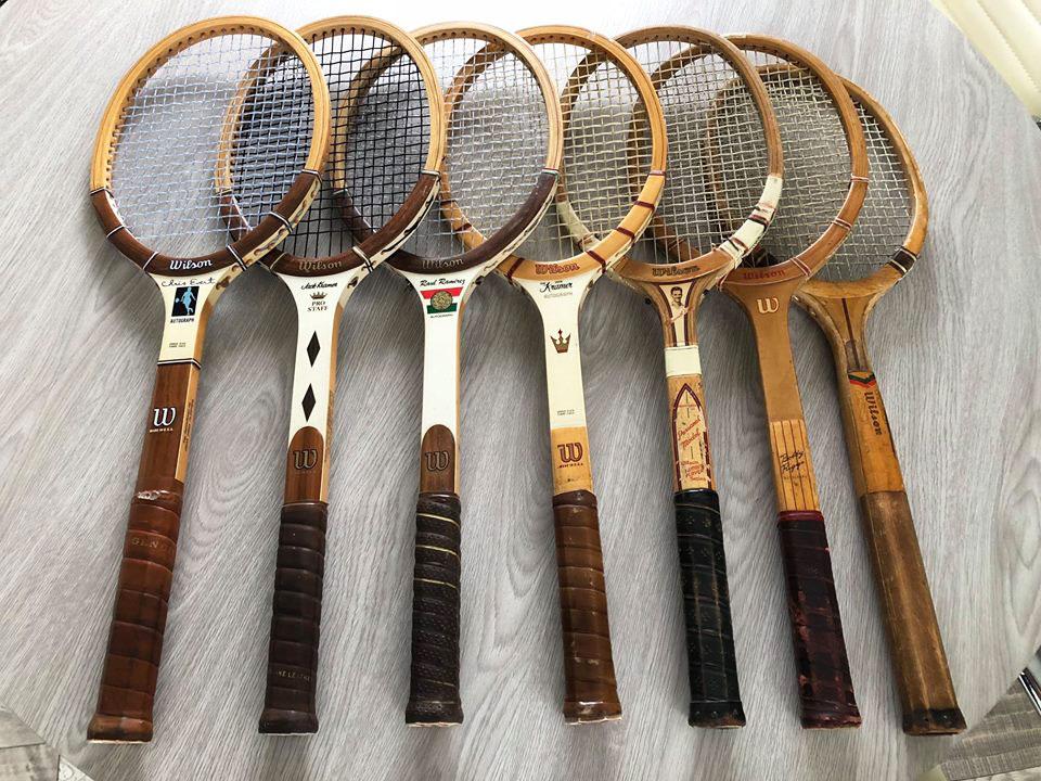 Raqueta de tenis de Guillermo Vilas