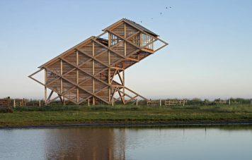 Torre para observación de Aves