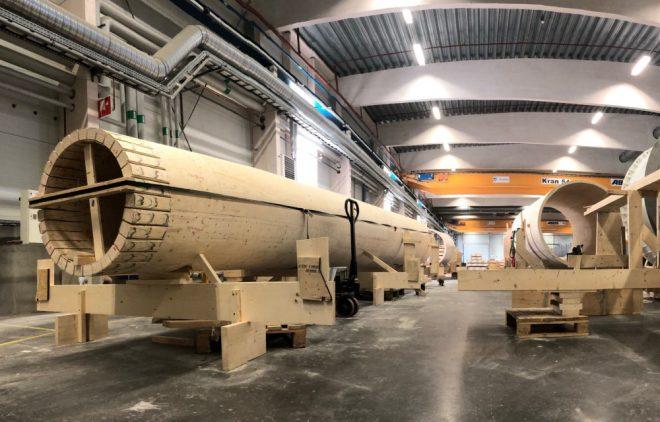 turbina eólica de madera