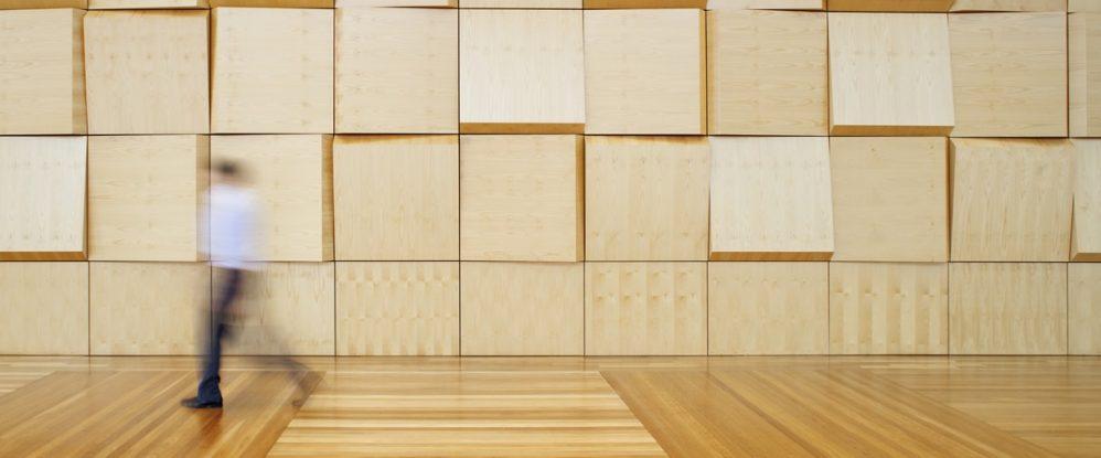 madera acústica