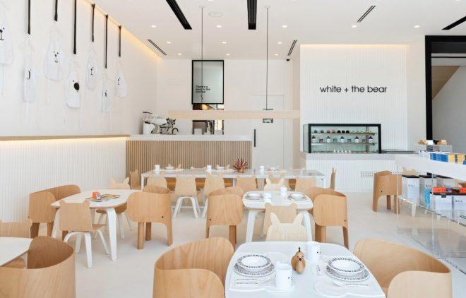 restaurante White & The Bear