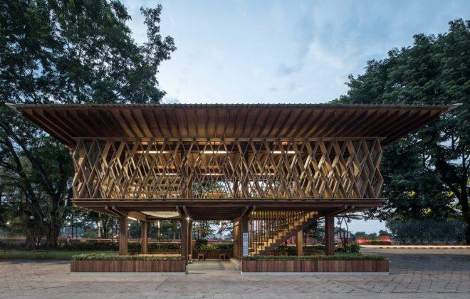 microbiblioteca warak kayu